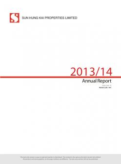 Annual Report 2013/14 (Text Only)