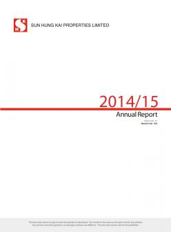 Annual Report 2014/15 (Text Only)